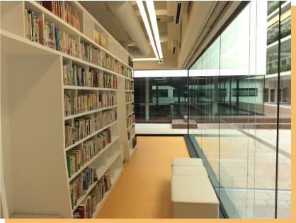 神戸学院大学附属高校 図書室