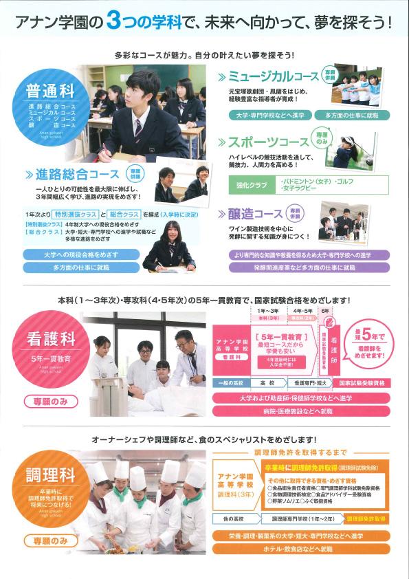 2019/12/3(火) アナン学園高校『夜間入試説明会』