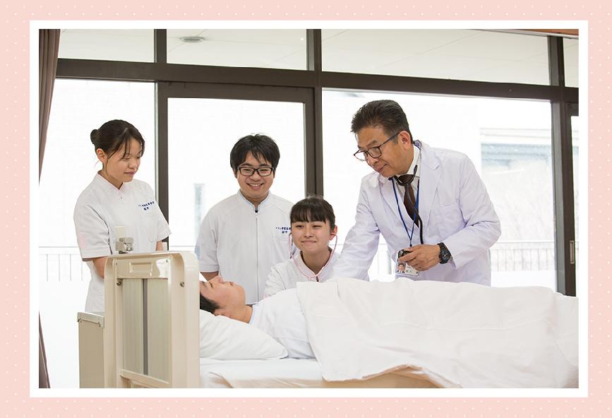 アナン学園看護科 国家試験合格率100パーセント